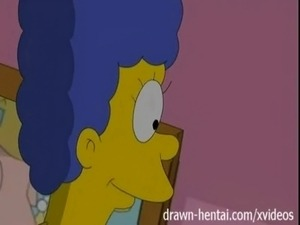 Lesbian Hentai - Lois Griffin and Marge Simpson free