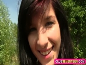 dyke pussy outdoors