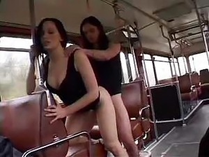 Public bus sex video