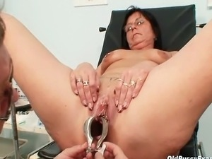 wifes erotic and embarassing gyno exam