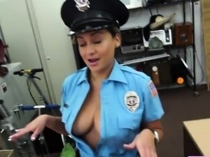 Hot police girl