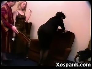 spank girl panties pussy