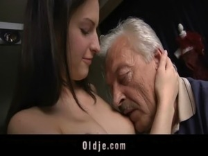 grandpa and young girl porn