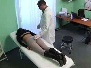 asian doctor fingers examines students video