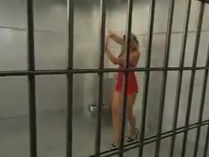 jail shower room sex video