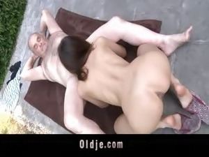 free pics spanked pussy old man