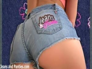 petite elastic waist jeans