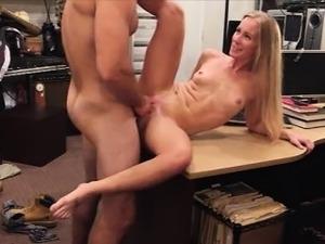 sexy blonde getting banged