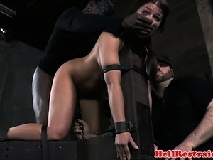 bdsm blonde video