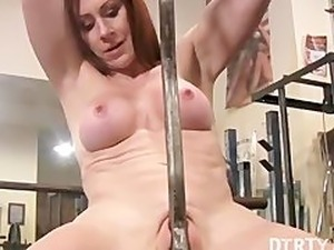 cassie young blowjob in gym