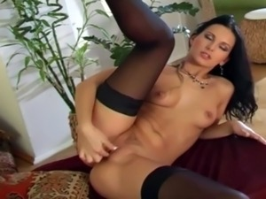 fucking mature pussy in stocking