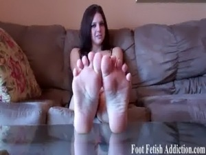 Cum on the feet