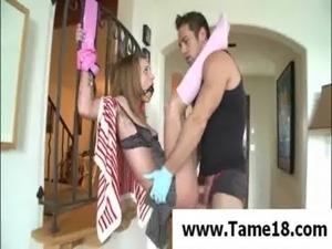 tied sex video