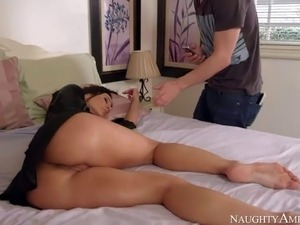xxx brunette video sex