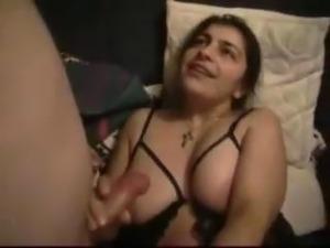 stockings cum feet anal blowjob