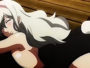 anime black hair girl