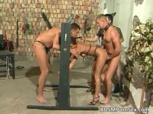 free bdsm story movie threesome