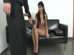 naked first time casting videos