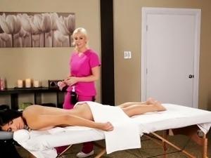 erotic sensual lesbian massage