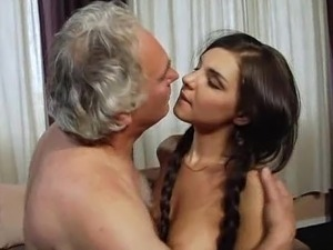 old man pounding petite pussy