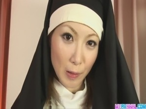 nun tits big movies