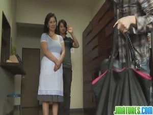 mature japanese blowjob