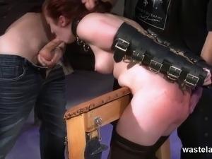 bdsm throat fuck free video
