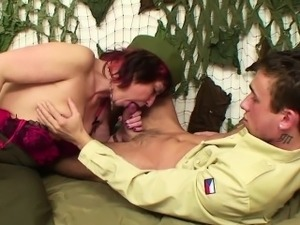 Hot army sex