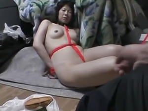 slippery pussy bondage