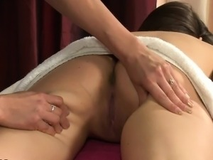 Lesbian oil massage videos