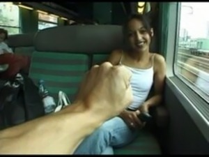 train fuck sex public