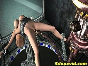 hardcore sex with alien