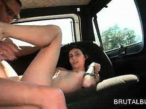 flashing pussy on bus
