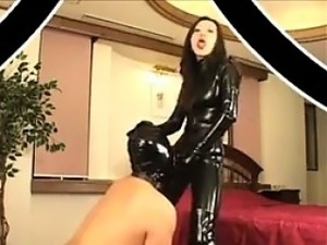 japanese girls in latex