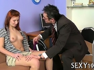 Hot teacher sex scene