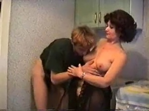 hot wives naked in the kitchen