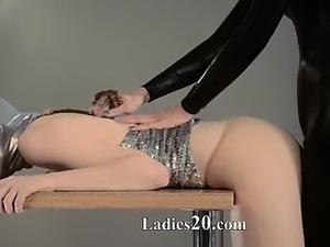 girls thigh high nylon sex