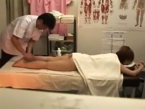 Nude full body massage video