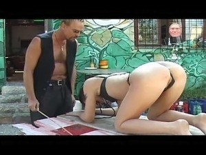 asian leather vids