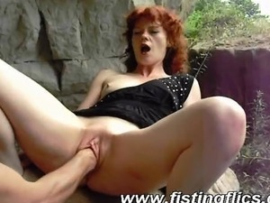 fat mature outdoor sex