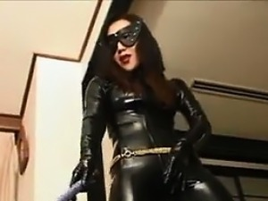 black tits in latex