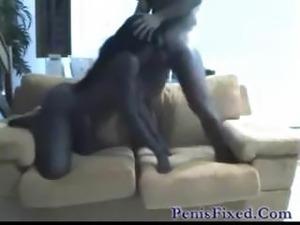 hairy ebony anal