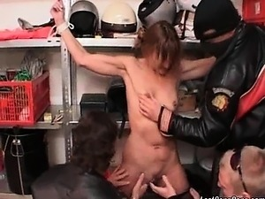 group of oriental girls having sex