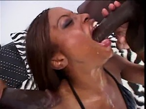 female ebony first anal