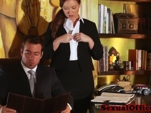 black secretary fuck