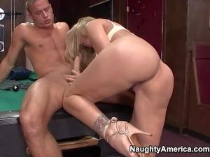 blonde girl in tights