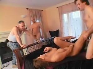 mature ladies giving double handjob