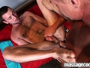 fat cock drilling a squirting pussy