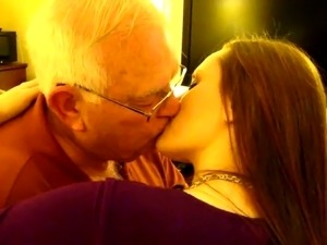 old man fucks young girl video