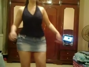 video girls homemade dancing